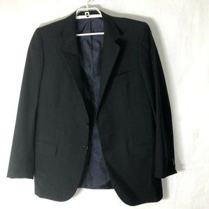 BRIONI black roman style roma suit jacket 46
